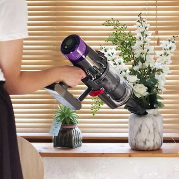 woman using Filters For Dyson V11 / SV14 Vacuum