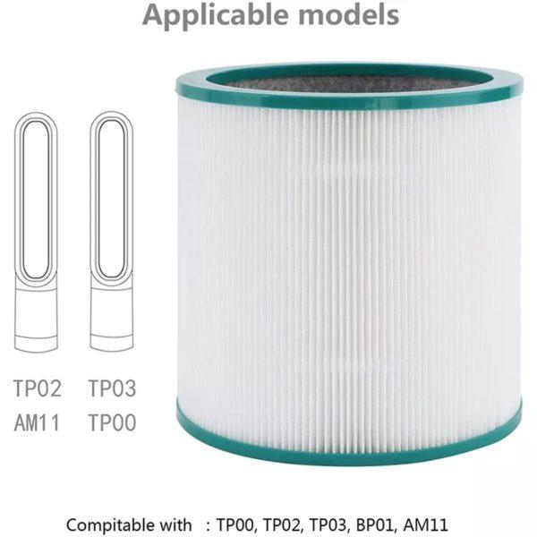 Filter for Dyson TP01 TP02, TP03 Air Purifier